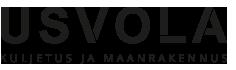 Kuljetus ja maanrakennus Usvola Ky Logo